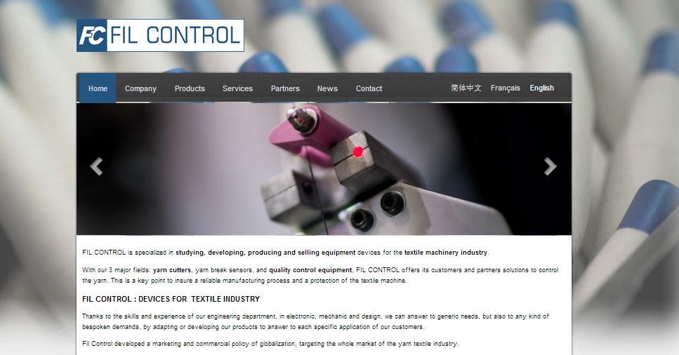 Fil control website