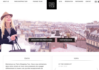 Paris shopping tour