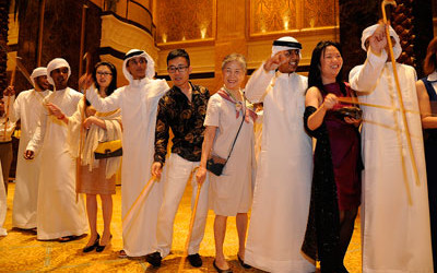 China becoms the largest tourism source market for Abu Dhabi