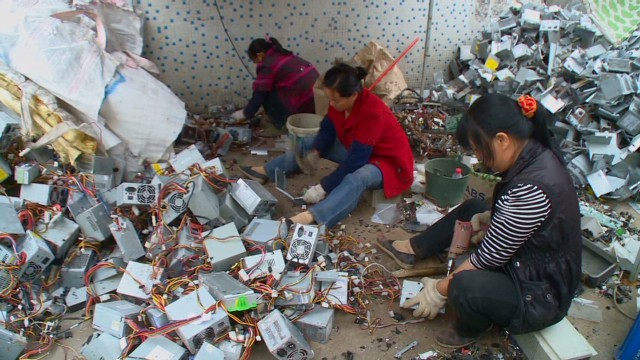waste China