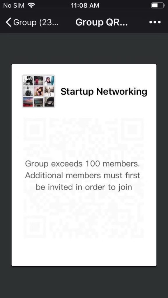 wechat business group