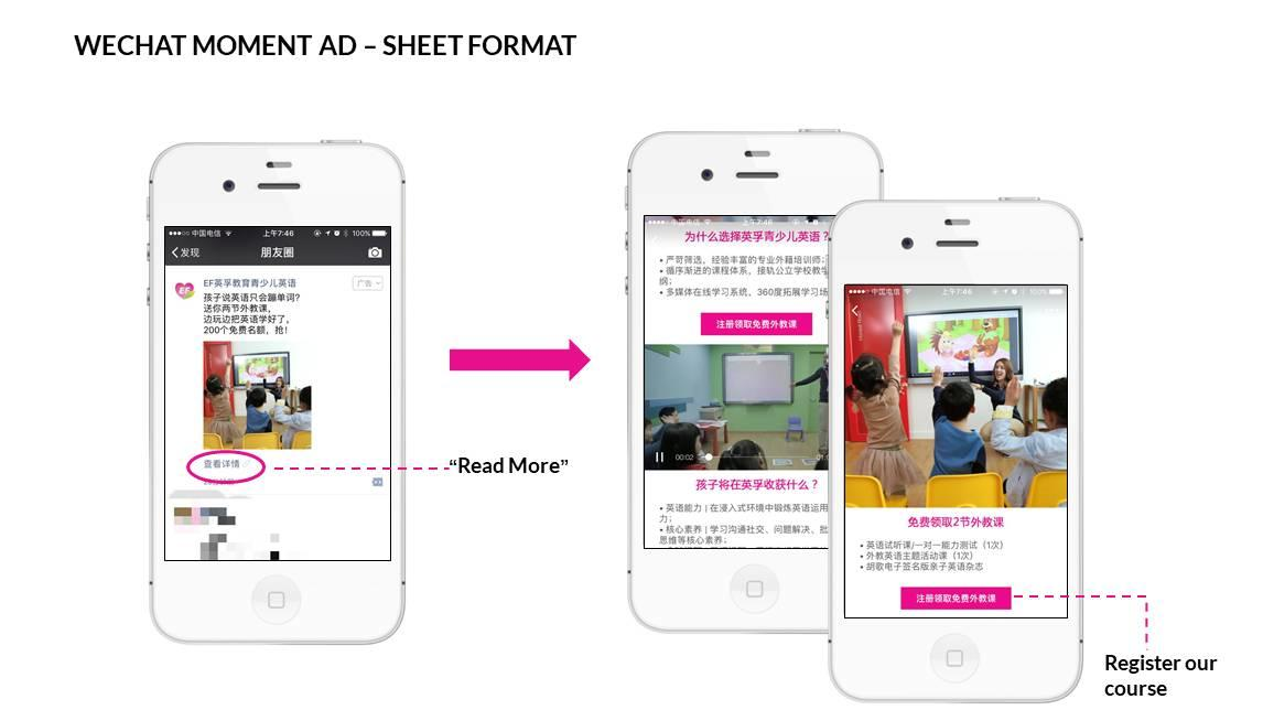 Agency for Wechat Moment Ads - SEO China Agency