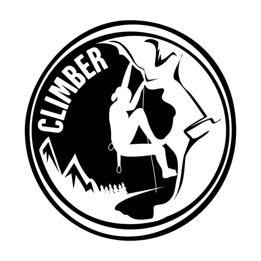 logo French Rock Climber Champion