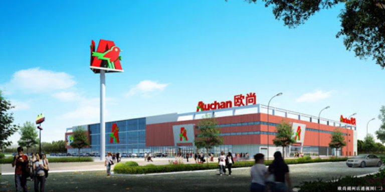 How to enter Auchan in China